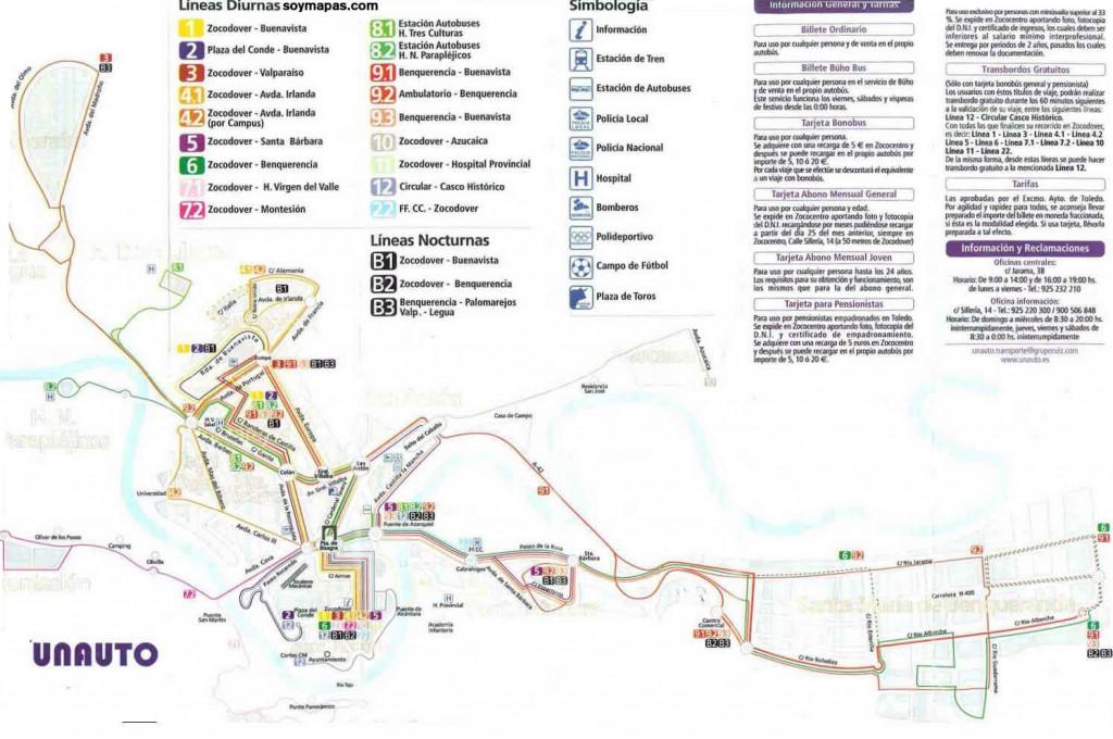 Transporte público Toledo