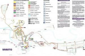 Mapa autobus Toledo